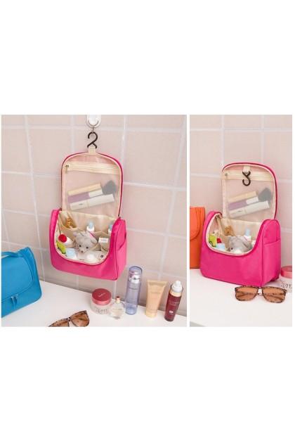 Travel Make up Toiletry Bags Pouch with Hanger 旅行洗漱包可吊挂大容量化妆品收纳包