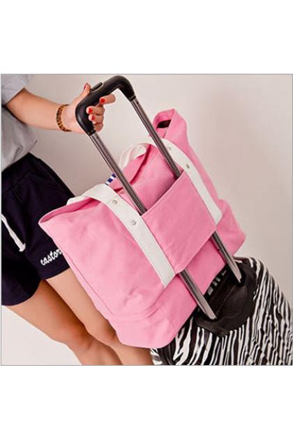 Canvas Travel/Mummy Baby Bag with Shoes Storage 加厚帆布大容量单肩包收纳整理妈咪包