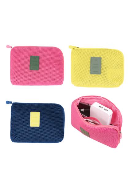 Powerbank Cable / Cosmetic Carry Pouch 多用途数码收纳包随身化妆包