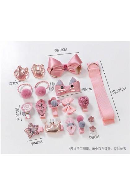 Gift Sets Cute Hairpin Hair Clips Kids set 儿童发饰礼盒套装