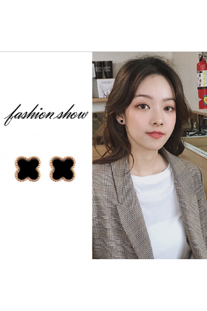 005 Korea Hot Recommend Gorgeous Simple Earrings  韩国爆款百搭简约气质款耳钉耳饰