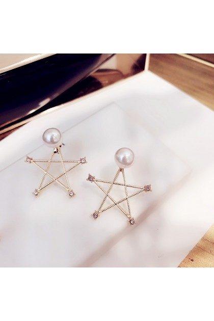 006 Korea Hot Recommend Gorgeous Simple Earrings  韩国爆款百搭简约气质款耳钉耳饰