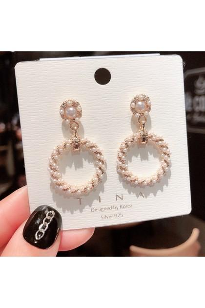 007 Korea Hot Recommend Gorgeous Simple Earrings  韩国爆款百搭简约气质款耳钉耳饰