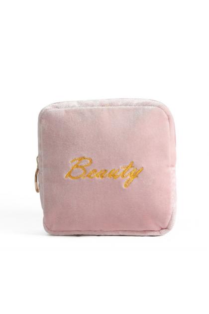 Korea Flanner Cloth Storage Pouch Bag 高品质韩国绒布艺收纳包