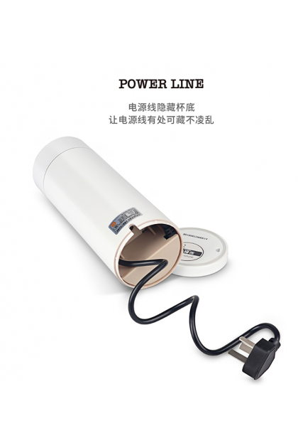 Nordic Style LED Portable Electric Water Cup 北欧便携式小型烧水保温壶