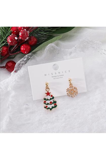 【Xmas Gift】Santa Claus Coming to Town Earrings Series 圣诞耳环系列二